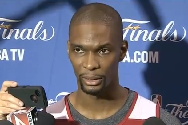 chris bosh tells heat fans to stay home for game 7