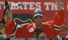 Corey Crawford's Victory Parade Speech Was An Explitive-Filled Classic (Video)