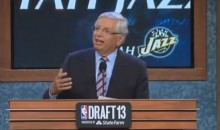 David Stern Was a Great Sport During His Final NBA Draft (Videos)
