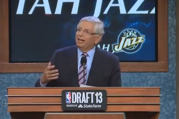 david stern nba draft 2013 booed