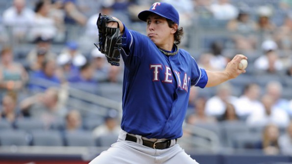derek holland vs yankees