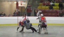 Canadian Player Assaults Czech Opponent at World Ball Hockey Championships (Video)