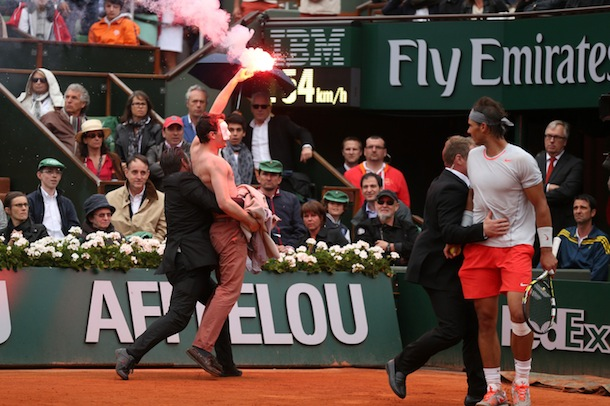 french open protestors