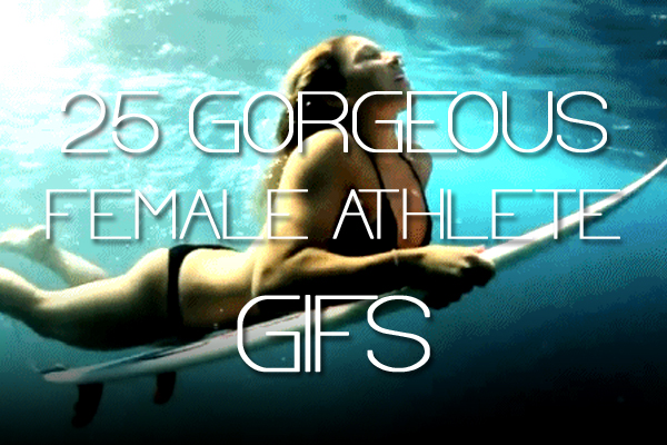 hot female athlete gifs