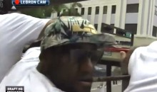 LeBron James Nearly Decapitated During Miami Heat Victory Parade (Video)