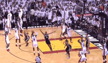 Every Single Shot LeBron James Made During Game 7 In One Animated GIF