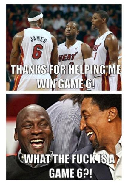 lebron james michael jordan game 6 meme
