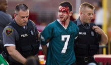 Eagles Fan Bloodied During Fight at LeSean McCoy Charity Softball Game (Video)