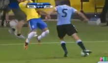 Neymar Was Diving Like a Brazilian Greg Louganis Yesterday (Video)