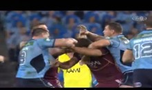 Check Out This Rugby Fight Between Paul Gallen and Nate Myles (Video)