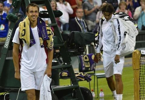 rosol vs nadal (2012 wimbledon) - biggest upsets all-time men's tennis