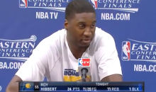 NBA Fines Roy Hibbert $75,000 for Homophobic Slur (Videos)