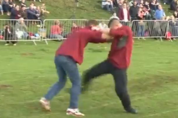 shin-kicking championships