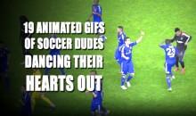 19 Soccer Dancing GIFs