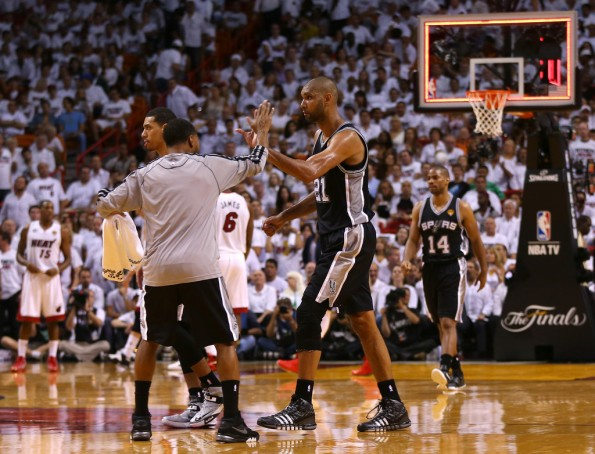 tim duncan vs heat