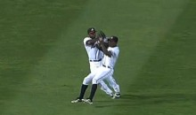 Communication Failure Between B.J. Upton and Little Bro Justin Leads to Outfield Collision (Video)