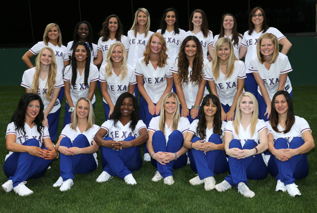 11 2013 Texas Rangers Six Shooters - MLB Cheerleaders