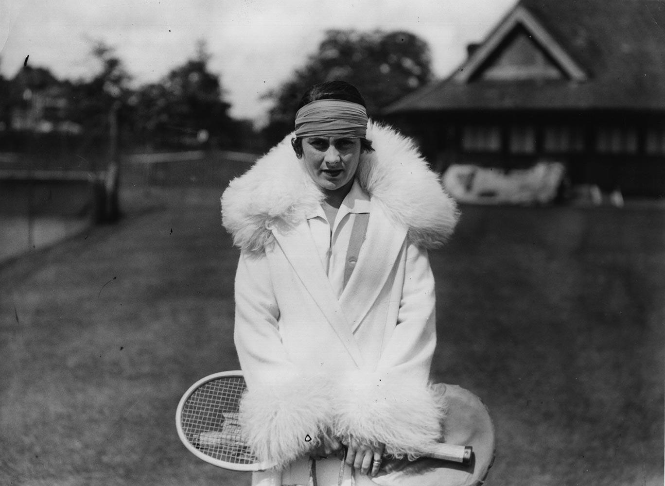 12 lili de alvarez 1926 - wimbledon fashion icons