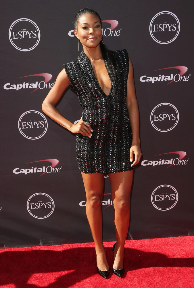 13 Gabrielle Union - hottest women 2013 espys red carpet