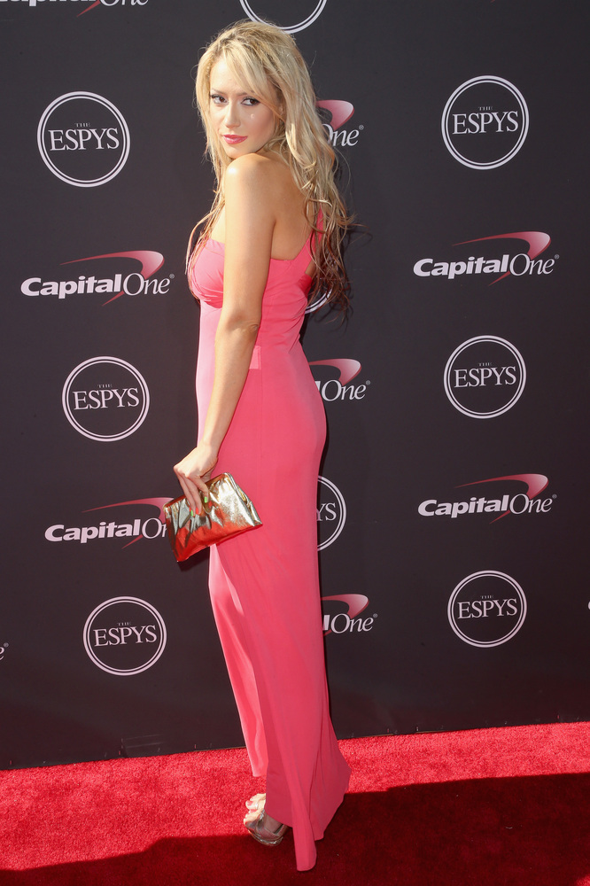 17 Kaya Jones - hottest women 2013 espys red carpet