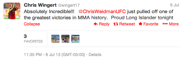 17 chris wingert - best athlete twitter reactions to anderson silva knockout