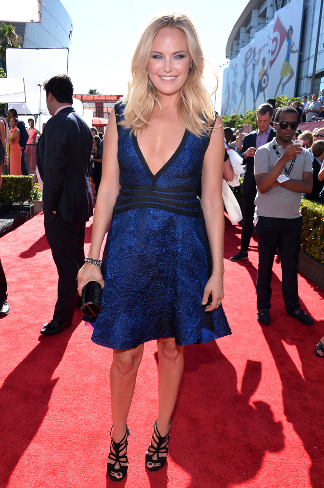 19 Malin Akerman - hottest women 2013 espys red carpet