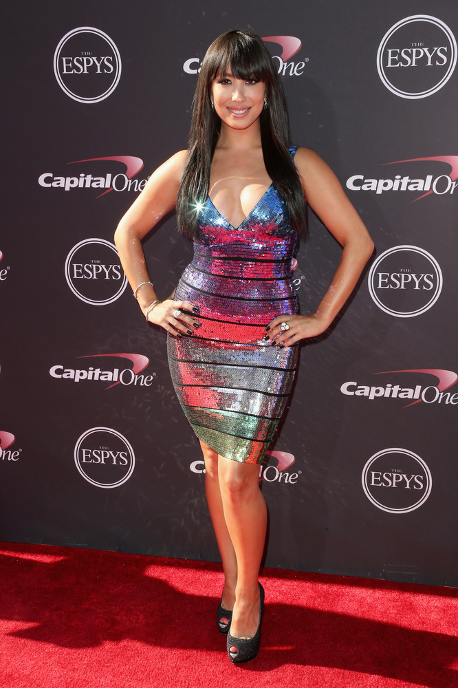 2 Cheryl Burke - hottest women 2013 espys red carpet