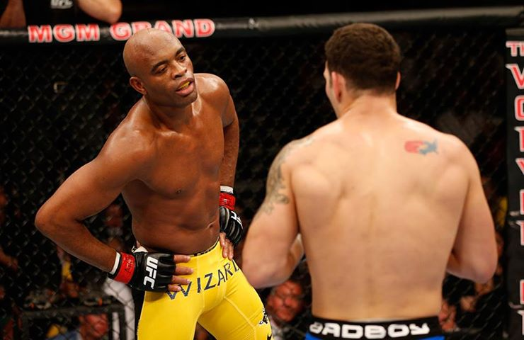 2 anderson silva taunt - anderson silva knockout memes