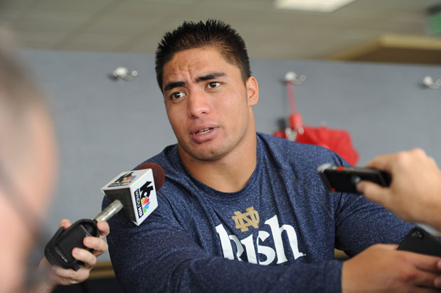 2 manti te'o dead girlfriend hoax - biggest sports stories 2013 so far