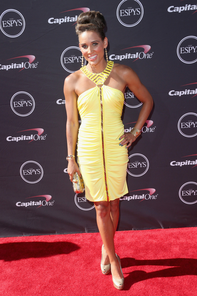 20 Lolo Jones - hottest women 2013 espys red carpet