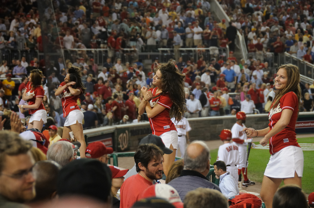 2013 Washington Nationals NatPack - MLB Cheerleaders