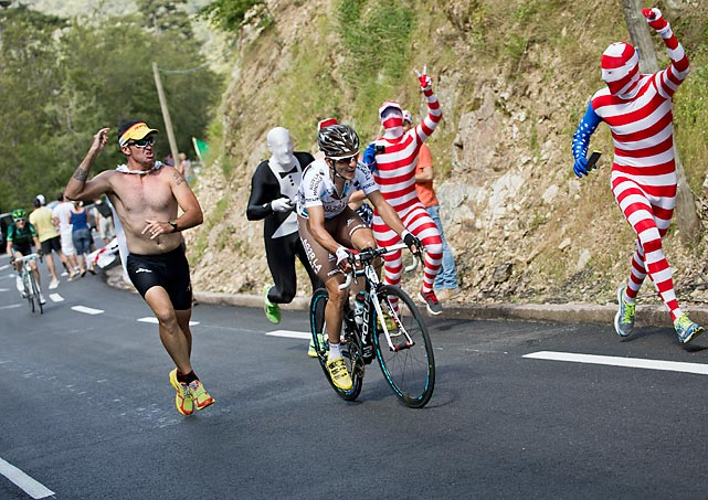 22 usa fans - crazy tour de france fans
