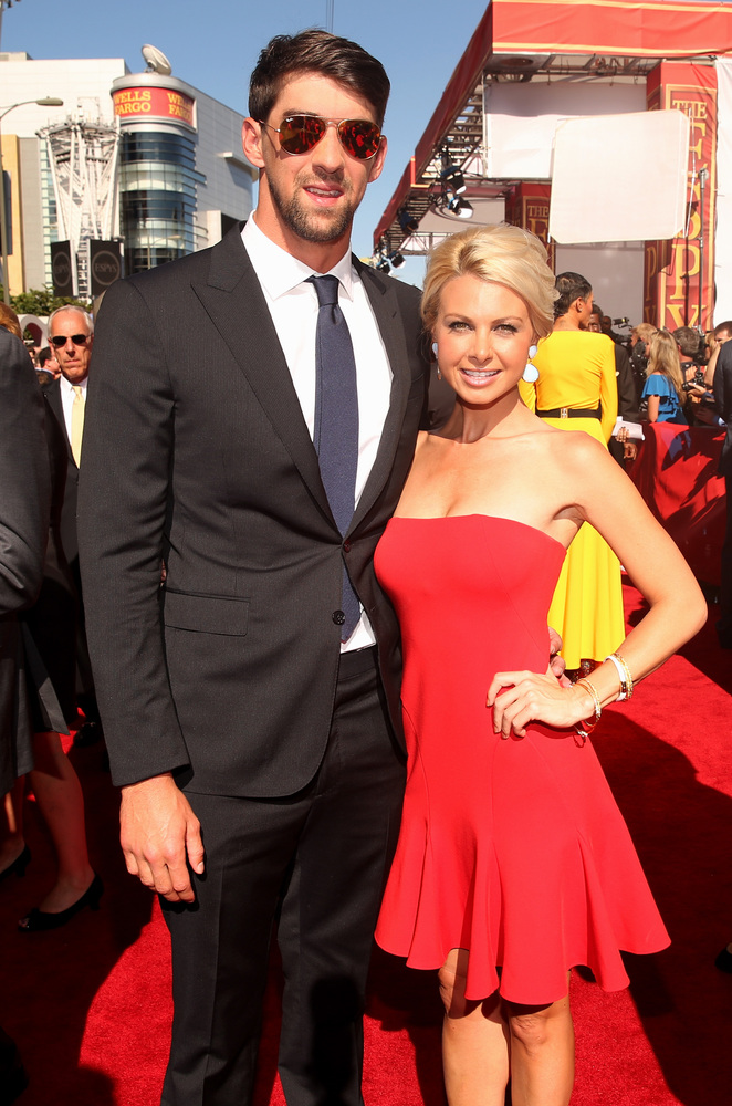 5 Win McMurry and Michael Phelps - hottest women 2013 espys red carpet