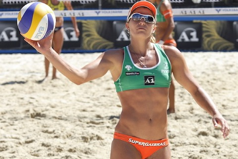 5 larissa franca - top earning women's beach volleyball players all-time