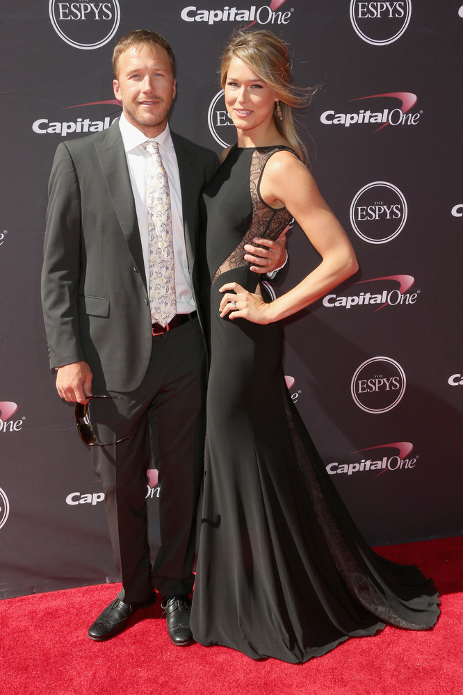 6 Morgan Beck and Bode Miller - hottest women 2013 espys red carpet