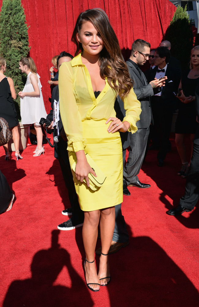 7 Chrissy Teigen - hottest women 2013 espys red carpet