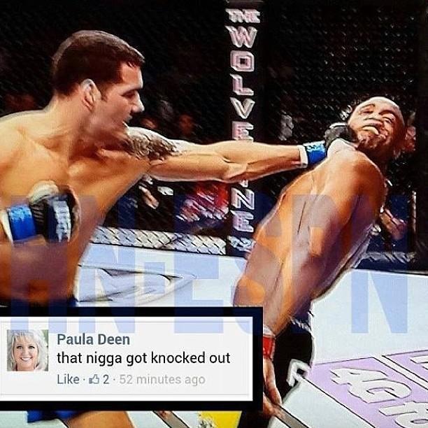 7 anderson silva paula deen - anderson silva knockout memes