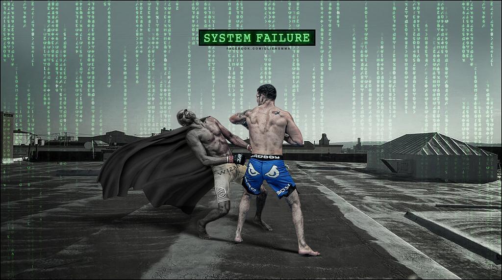 8 glitch in the matrix - anderson silva knockout memes