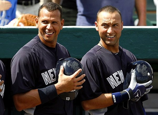 8 jeter and a-rod