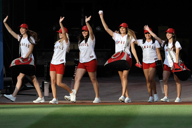 9 2013 Los Angeles Angles Strike Force - MLB Cheerleaders