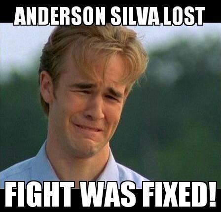 9 anderson silva lost (dawson's creek) - anderson silva knockout memes