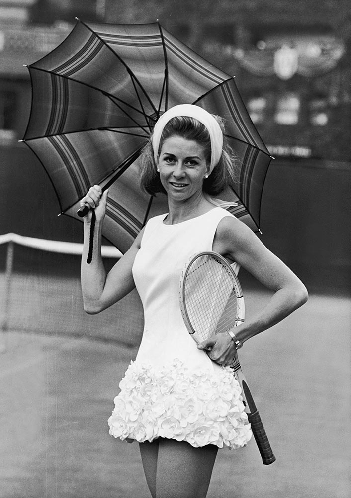 9 lea pericoi 1965 - wimbledon fashion icons
