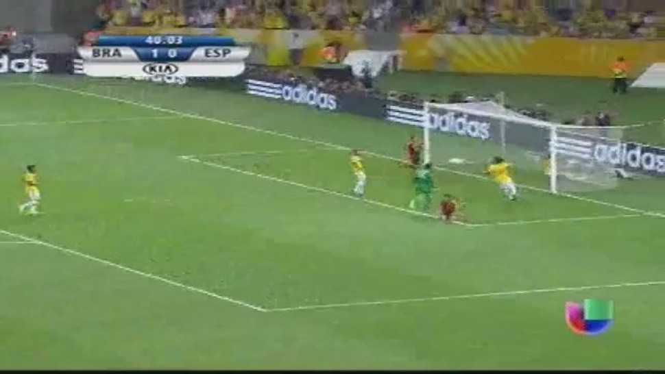 David Luiz's Incredible Goal Line Save