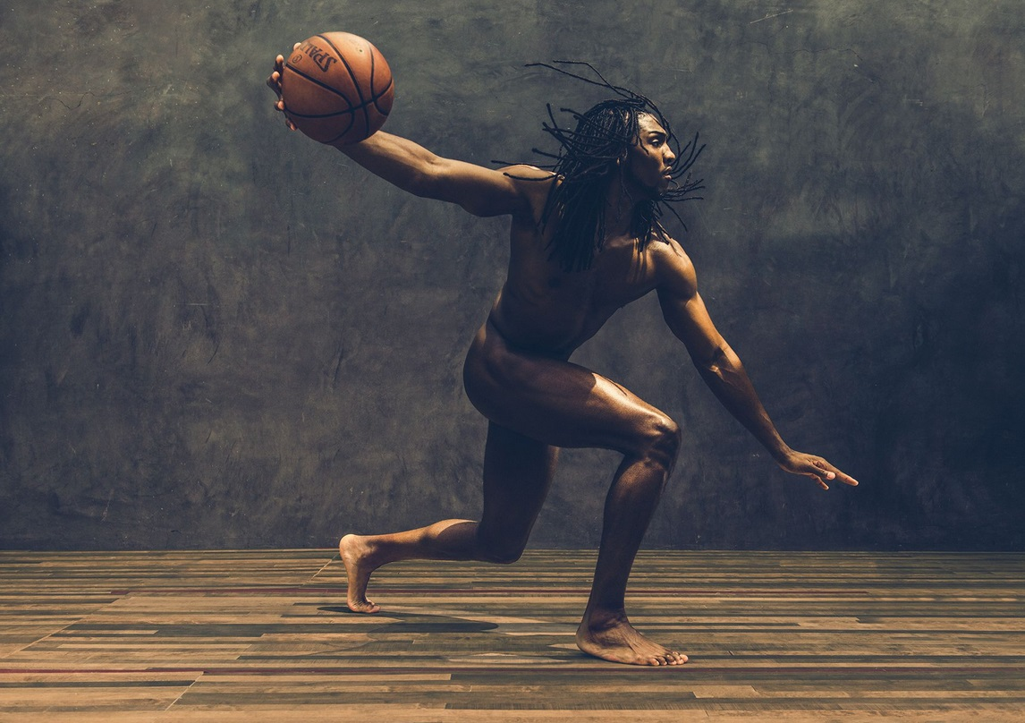 NBA Baller Wolf, Kenneth Faried, Ready and Naked For ESPN