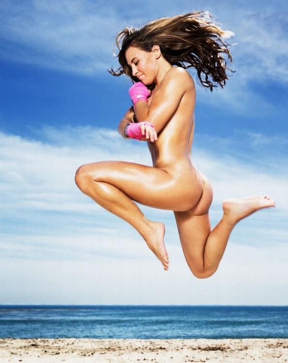 ESPN Mag Body Issue - Miesha Tate