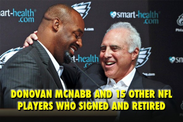 NFL sign and retire