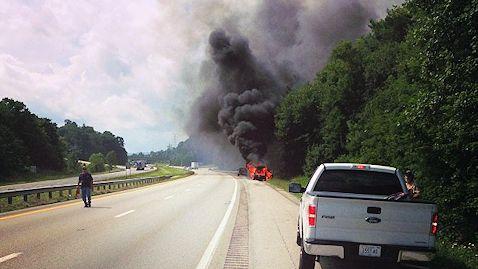 Tig Willard Rescues Family From Burning Car