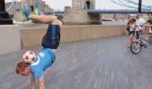 Freestyle Football World Champion Andrew Henderson Has Some Pretty Sweet Footy Moves (Video)