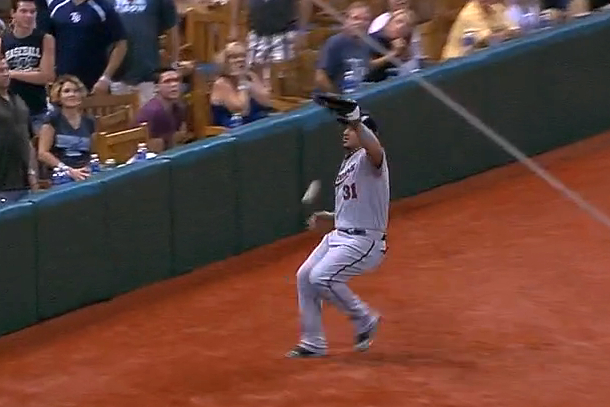 arcia pop fly fail