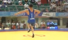 Azerbaijani Wrestler Gives Us One of the Best Celebration Dances of All-Time (Video)